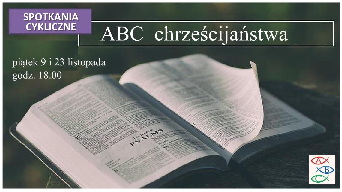 ABC chrześcijaństwa-plakat